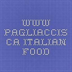 www.pagliaccis.ca - Italian Food