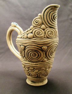 Stoneware Pottery - Handbuilt Pottery by Jim Irvine Hand Built Pottery, Slab Pottery, Pottery Vase, Ceramic Pottery, Pottery Lessons, Pottery Classes, High School Ceramics, Coil Pots, Clay Teapots