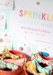 sprinkle party favors, kojodesigns