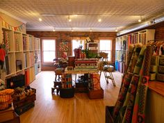 nido Located in Burlington VT. I would love a store just like this one. Beautiful!