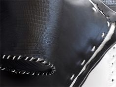 Polyamide upholstery fabric PERFECT LEATHER by Elitis