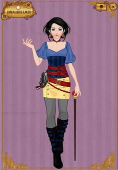 EPBOT: Steampunk Disney Princesses | Halloween for Haven?
