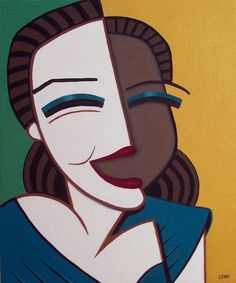 Jeff Lyons ‏@LyonsArtwork shared via Twitter ... his Paloma 5. Named after Picasso's daughter. Fun, slightly cubist oil paintings of women. http://LyonsArt.com ★★★