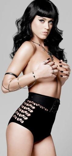 Katy Perry grabbing boobs.