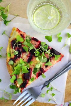 Roasted Beet and Micro Kale Egg White Frittata - The View from Great Island