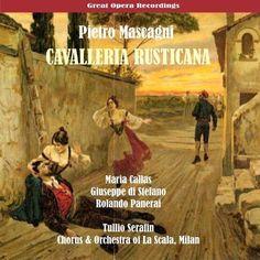 Pietro Mascagni met Callas, Di Stefano en Panerai