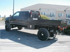 Cf D A C D Fee Cd C on Desert Dodge Ram 2500 Flatbed Truck