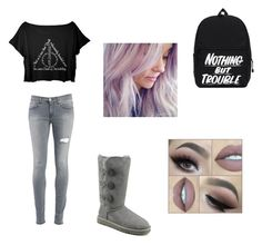 """""""Harry Potter♡"""" by unicornlena on Polyvore featuring Dondup and UGG Australia"""