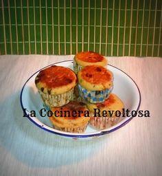 Mini muffins de banana con pepitas de chocolate e ingrediente secreto | La Cocinera Revoltosa