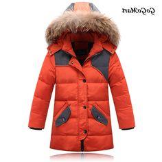 37.81$  Watch now - https://alitems.com/g/1e8d114494b01f4c715516525dc3e8/?i=5&ulp=https%3A%2F%2Fwww.aliexpress.com%2Fitem%2F2015-Boys-Winter-Coats-Kids-Winter-Jacket-Coat-With-Fur-Hood-Long-Warm-Thick-Children-Duck%2F32539287892.html - 2015 Boys Winter Coats Kids Winter Jacket Coat With Fur Hood Long Warm Thick Children Duck Down Outerwear BC087