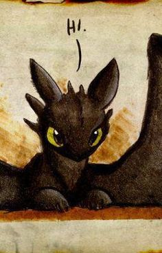 OMG its TOOTHLESS