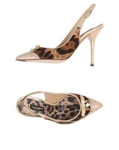 I found this great DOLCE & GABBANA Pump on yoox.com. Click on the image above to get a coupon code for Free Standard Shipping on your next order. #yoox