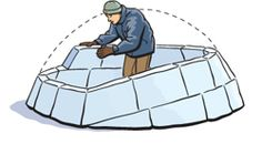 How to build an igloo {we want to go larger/more functional this winter}