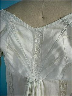 Antique Dress - back