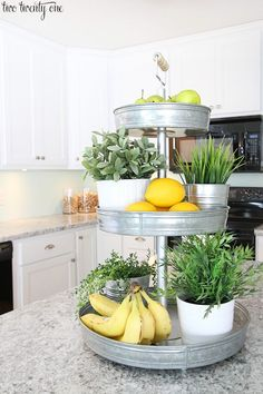 Kitchen Decor 15 Clever Ways to Get Rid of Kitchen Counter Clutter - Glue Sticks and Gumdrops - Tired of messy countertops? We've found 15 easy ways to get rid of kitchen counter clutter. You'll have much more food prep space now! Cocina Diy, Küchen Design, Design Ideas, Store Design, Interior Design, Design Inspiration, Kitchen Inspiration, Interior Ideas, Interior Modern