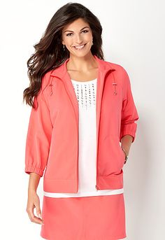 Relaxed Restyled Sporty Jacket, 9-0036174498, Relaxed Restyled Sporty Jacket Main View PDP