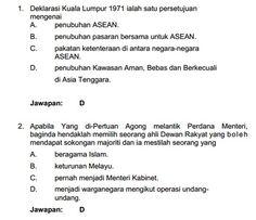 contoh soalan peperiksaan online pegawai tadbir dan diplomatik m41, exam ptd
