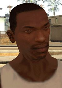 15 - Carl Johnson - A kid from the ghetto in Grand Theft Auto: San Andreas, CJ might aspire to get clean, but with gangbangers, family members and crooked cops all on his case, it ain't going to be easy. He'd be played by Michael B. Gta Funny, Funny Pix, Funny Images, Grand Theft Auto, Best Memes, Dankest Memes, Gta Logic, Cj Johnson, Gta San Andreas