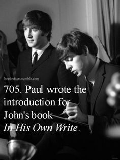 And I read it! Ringo Starr, George Harrison, Paul Mccartney, Great Bands, Cool Bands, Beatles Love, John Lennon Beatles, All You Need Is Love, My Love