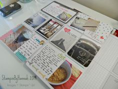 Stampin Up Project Life June 2014 - See more at www.stampinbyhannah.co.uk