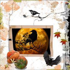 Hier mijn lo's gemaakt met de mooie Nov.2017 HSA ArtsyBits2 , bedankt Eileen. Winkel links – foto's vrij van Pixabay font- iets geschaduwd lo 2 – Nov. 2017 – Raven