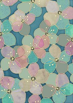 It's Always Summer Somewhere 2 - translucent poppy doodle by micklyn