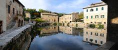 San Quirico d'Orcia, Bagno Vignoni, scorcio (SI)