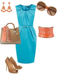 """Summer Office Wear"" by dimsumdumpling on Polyvore"