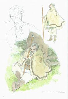 Studio Ghibli, Tales From Earthsea, The Art of Tales From Earthsea, Ged