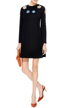 Giorgio Embellished Shift Dress by Vivetta - Moda Operandi