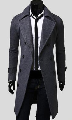 "Presenting 'The BOSS' men's trench coat. You probably think to yourself ""I want to be taken seriously"", ""Get a few smiles from the waitress at a restaurant"" o"