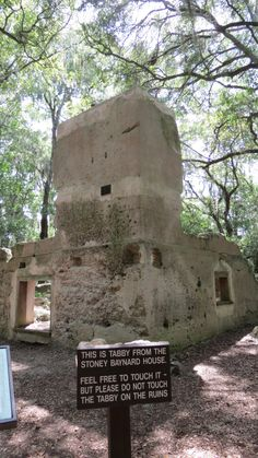 Hilton Head. Been there and it was really cool. Its the ruins of and old plantation. VB