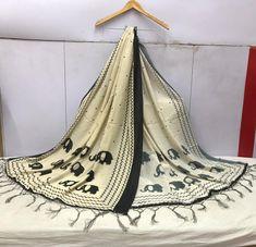 "Rate:- Rs 549 + SHIP FREE Dupatta Fabric details Pure banarasi muslin silk cotton dupatta multi color printed Cut 2.50 Full (wd 44"") MULTI-COLOR SILK DUPATTA FUSION 2021 Ready to ship. #gfseries"