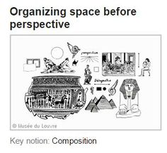 http://www.louvre.fr/en/clefanalyses/organizing-space-perspective Organizing Space before Perspective #formalanalysis #historyofart