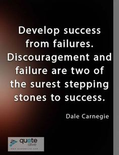 Failure Quotes, Dale Carnegie, Cards Against Humanity, Success