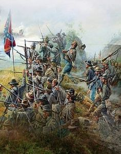 Confederate soldiers fought at Gettysburg!