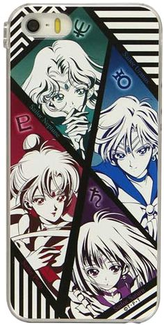 Uranus, Neptune, Pluto and Saturn! Official Japanese Sailor Moon phone cover for iPhone 5/5S/5C, 4/4S and Galaxy 4! http://www.moonkitty.net/reviews-buy-sailor-moon-phone-cases-straps-charms.php @Kristin West Moon #SailorMoon
