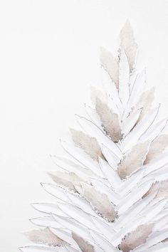 DIY Pampas Grass + Feather Faux Holiday Tree   Poppytalk