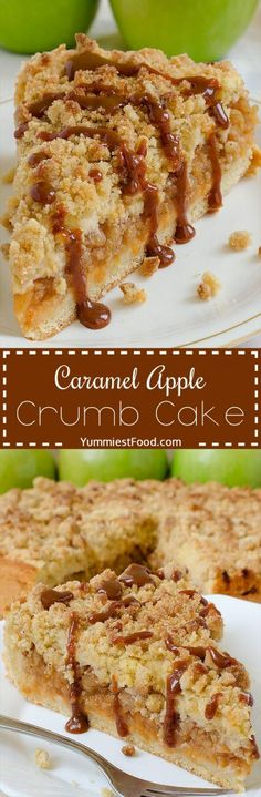 This Apple Cake with crumb mixture over the top and most amazing caramel glaze is ideal for every occasion.