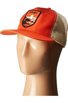 Goorin Brothers Coast Out (Orange) Caps - Goorin Brothers, Coast Out, 101-0015, Hats Caps General, Caps, Caps, Hats, Gift, - Street Fashion And Style Ideas