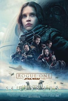 Rogue one : A star wars story (USA) min) - Réalisé par Gareth Edwards - Felicity Jones, Diego Luna, Forest Whitaker Star Wars Film, Star Wars Poster, Star Wars Art, Star Trek, Star Wars Logos, Poster Poster, Canvas Poster, Poster Ideas, Print Poster