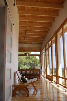 Eco-Houses Construccions   Casa Roda de Barà I   Casa Ecologica Madera Bajo Consumo Energetico