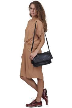 See by Chloe' dress, MM6 shoes and bag