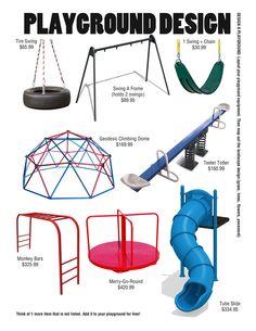 Playground Design (E is for Explore!)
