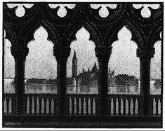 M.C. Escher, 1936