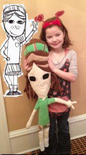Amazing company that turns kids' artwork into custom stuffed dolls | my pretty monsters