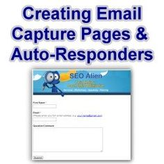 Creating an Email Capture Page with Autoresponder Using Google Docs see my profile to for great images