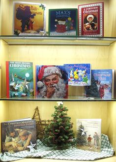 Christmas Stories | Library Book Display
