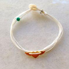 Gold, and azurite stone bracelet