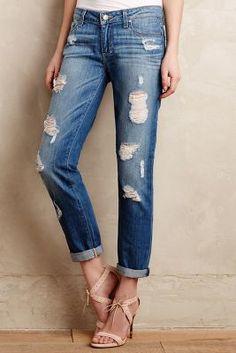 Paige Jimmy Jimmy Jeans Delilah Destructed Denim
